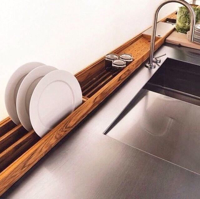 Secar pratos chiquemente?