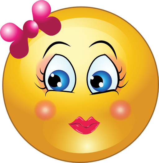free smiley girl clipart 1 jpg 512 526 hippie trippy rh pinterest com Goofy Smiley Face Clip Art Cartoon Smiley Face Clip Art