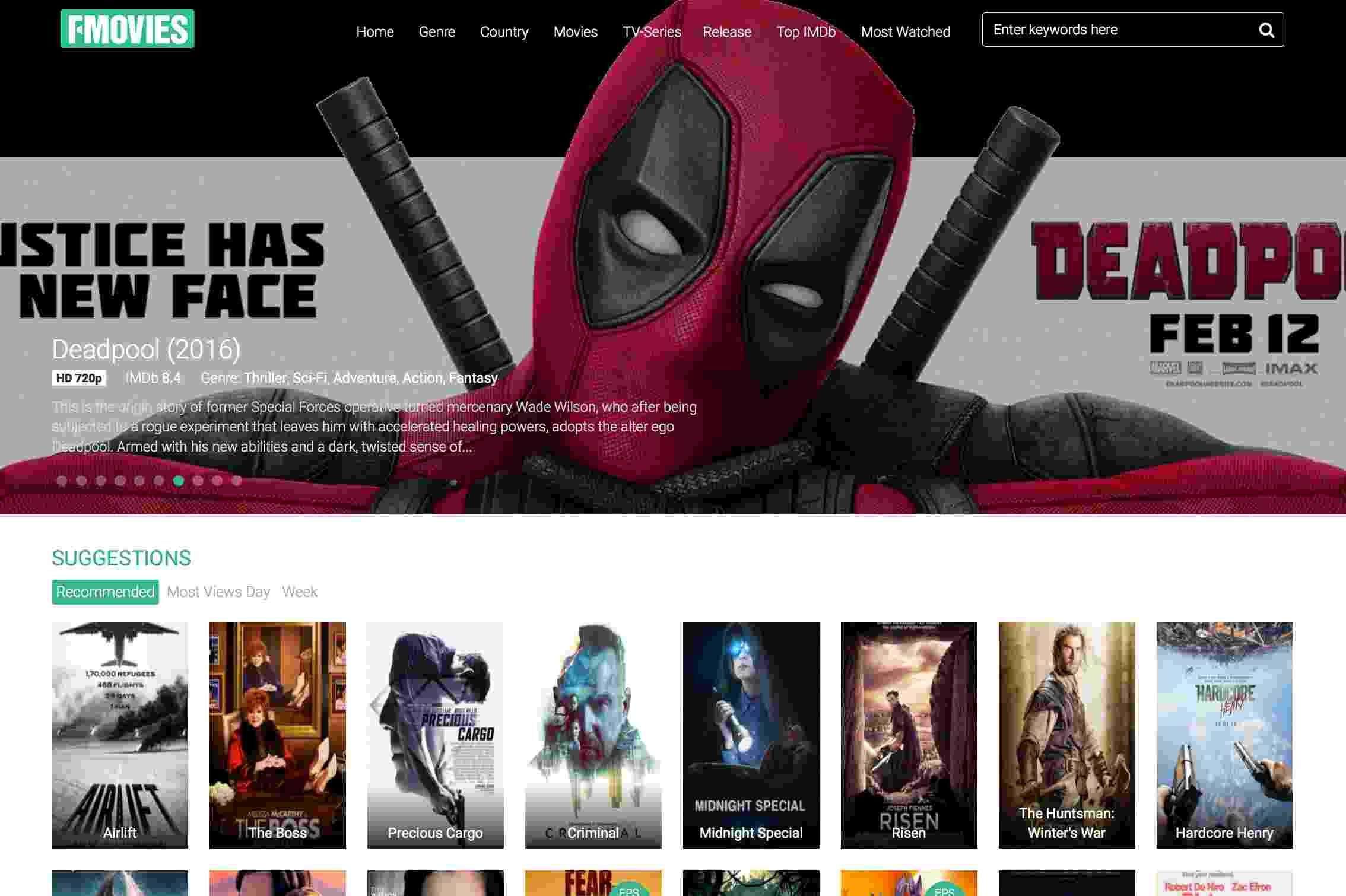 fmovies Free movie websites, Movie website, Free movies