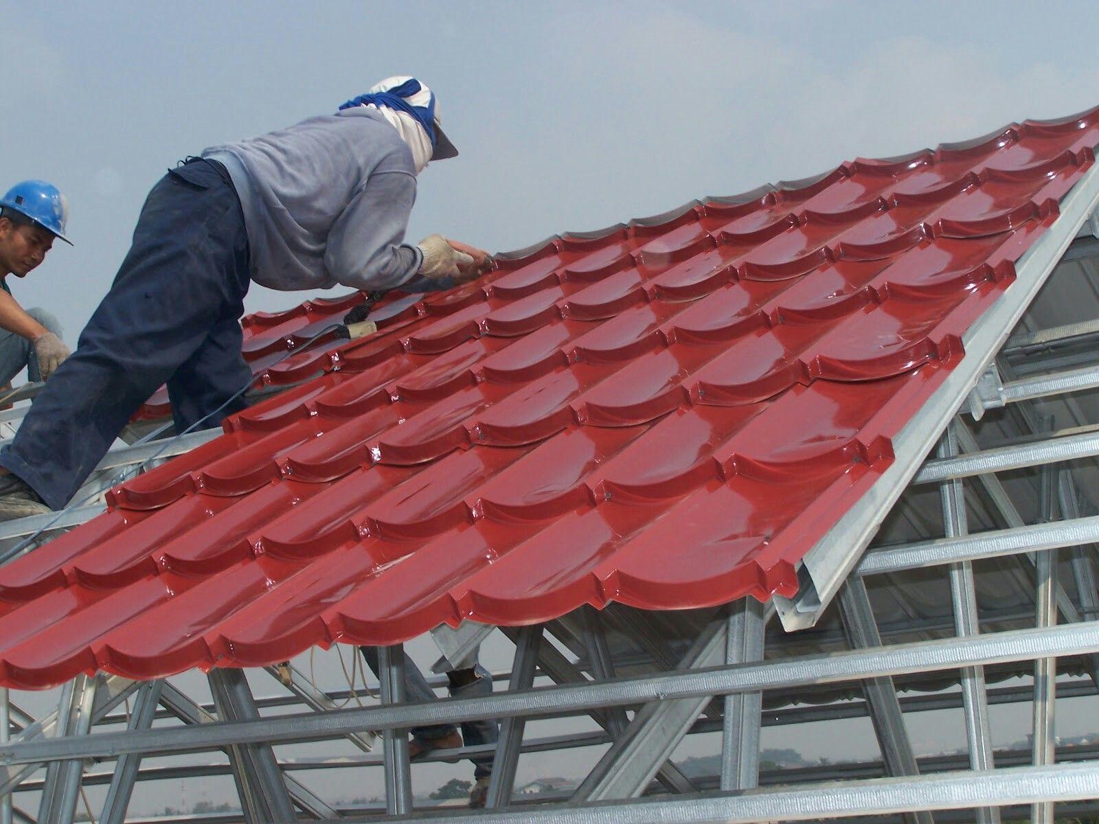 Menerima pemesanan atap baja ringan sesuai dengan