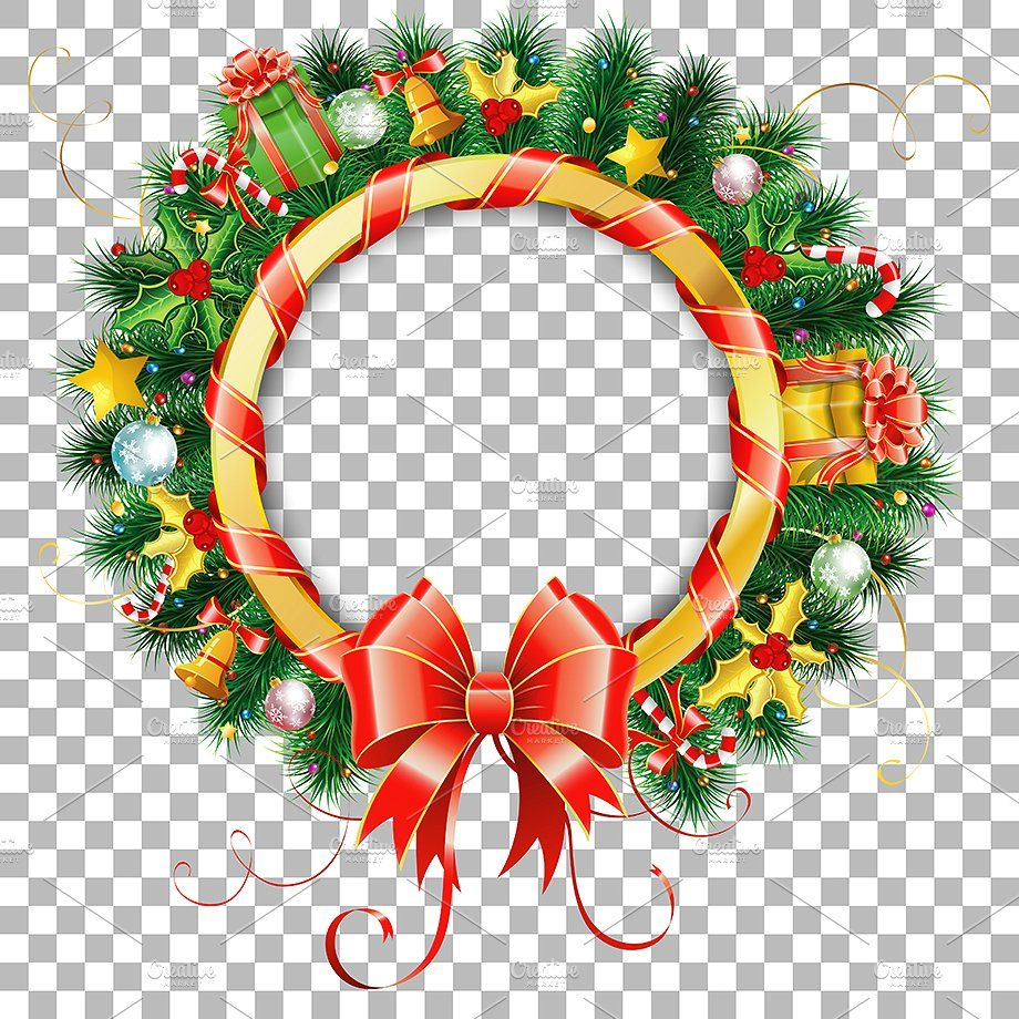 christmas and new year themes christmas new year frame holiday transparent