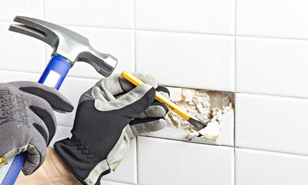 Lowes How To Fix Broken Ceramic Tile Kitchen Pinterest