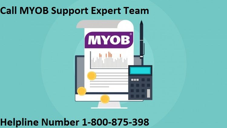 Call myob support number 1800875398 and get the best