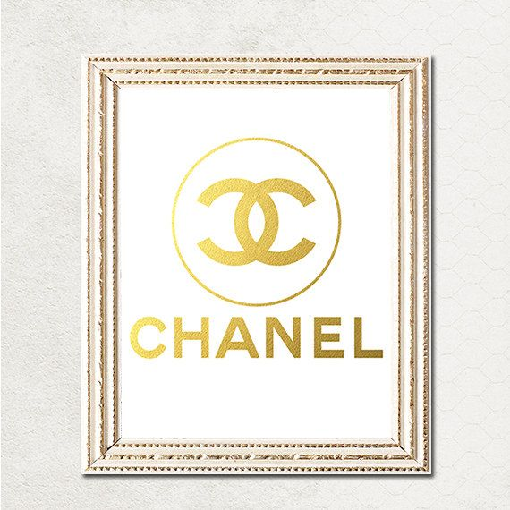 Buy 1 Get 1 Free Printable Coco Chanel Logo Poster Ot Zirkadesign 5 00 Buy 1 Get 1 Chanel Chanel Logo