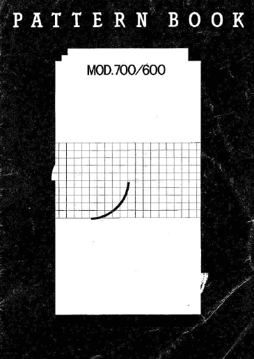 Link to Knitmaster mod 700/600 Pattern Book. | Vintage Knitmaster ...