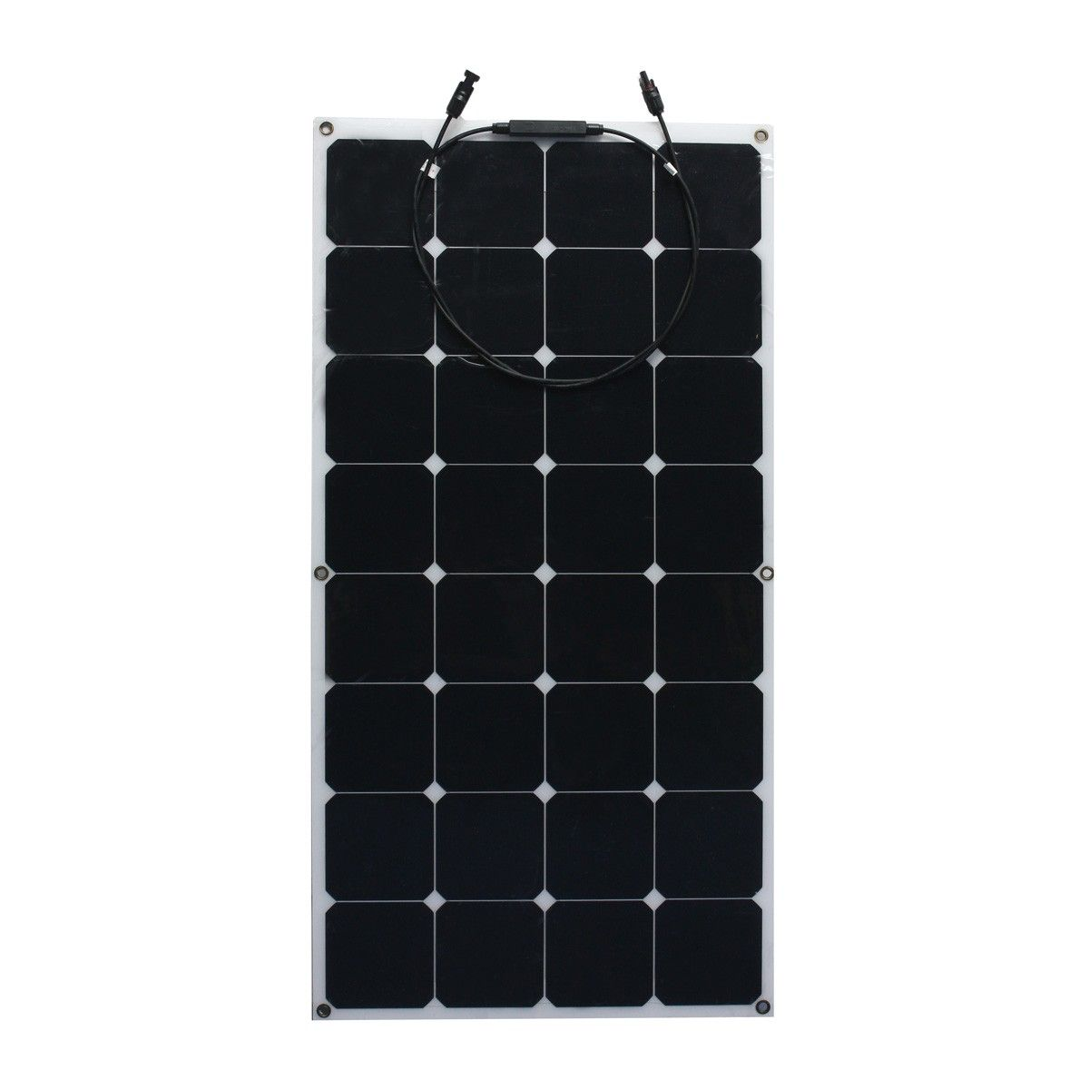 18v 100w Semi Flexible Monocrystalline Solar Panel Battery Rv Photoelectricity Flexible Solar Panels Solar Panel Battery Monocrystalline Solar Panels