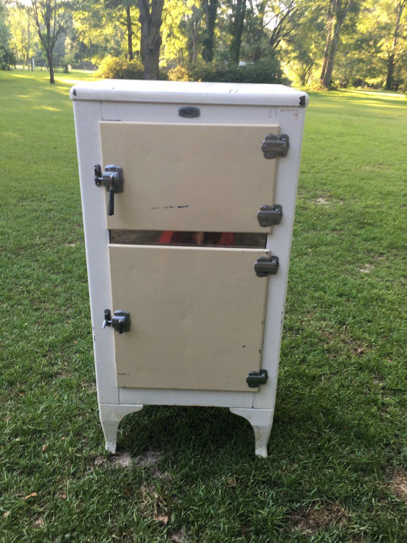 antique ice box progress ice box storage container farmhouse