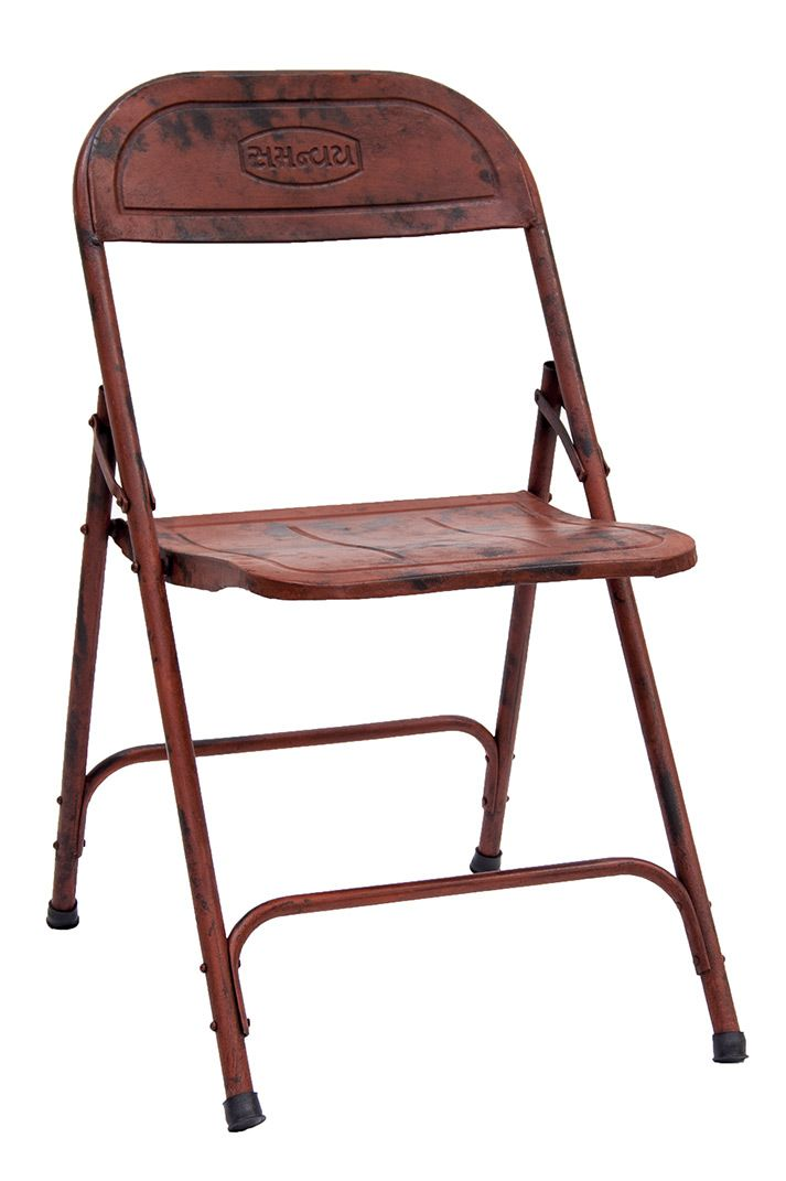 mesa y sillas metalicas plegables