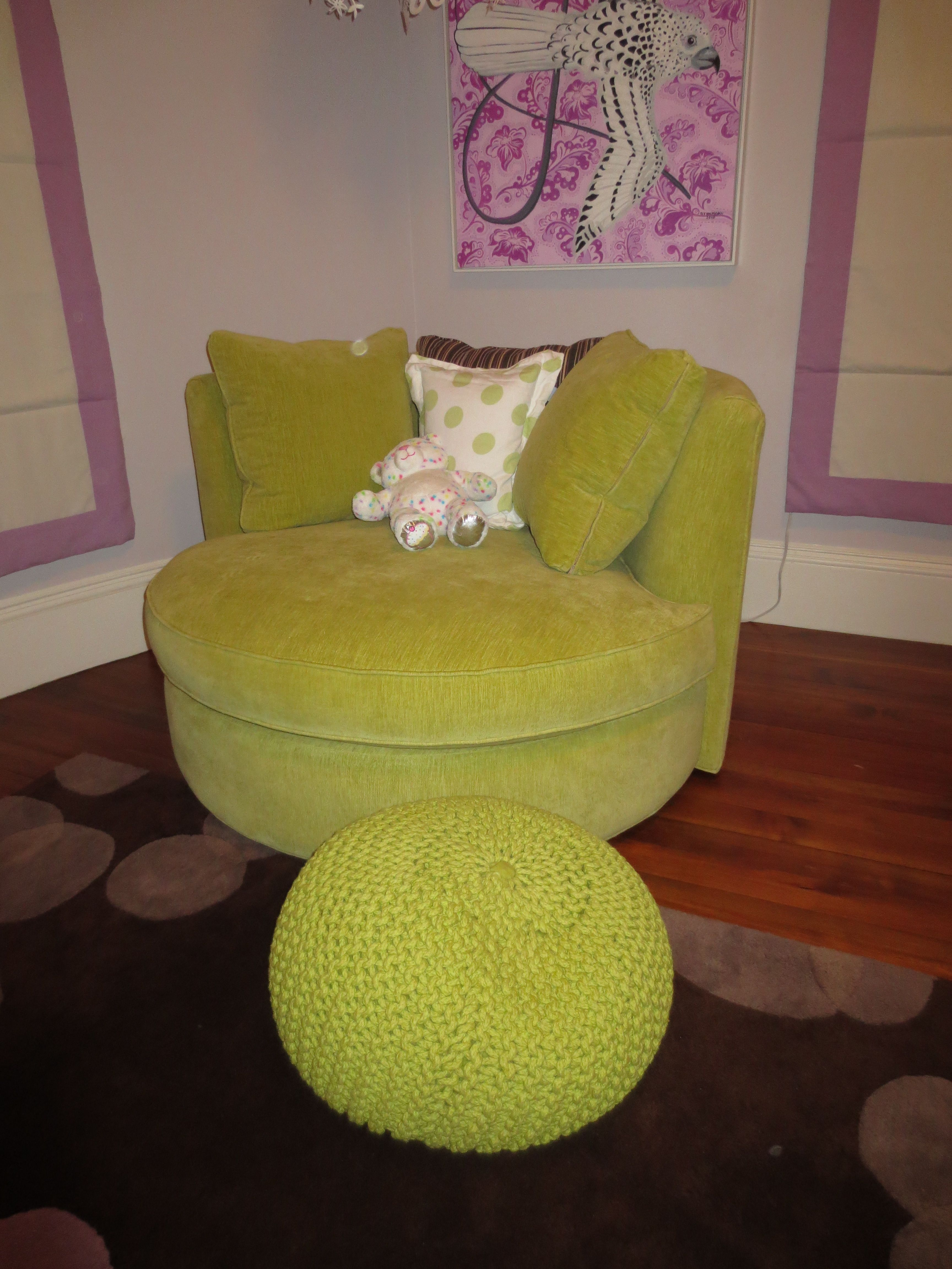 Eos Swivel Chair From Room And Board Upholstered In