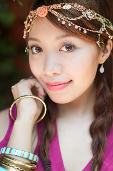 My summerfriendly look makeup jewelry Michelle phan