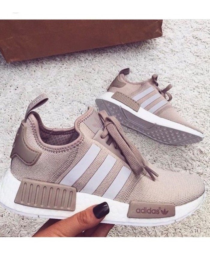 Womens Adidas NMD R1 Runner Light Vapor Pink Shoes (With ...