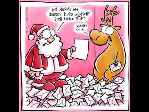 Frohliche Weihnachten Lustiger Weihnachtsmann Youtube Advent Lustig Lustig Weihnachten Comic