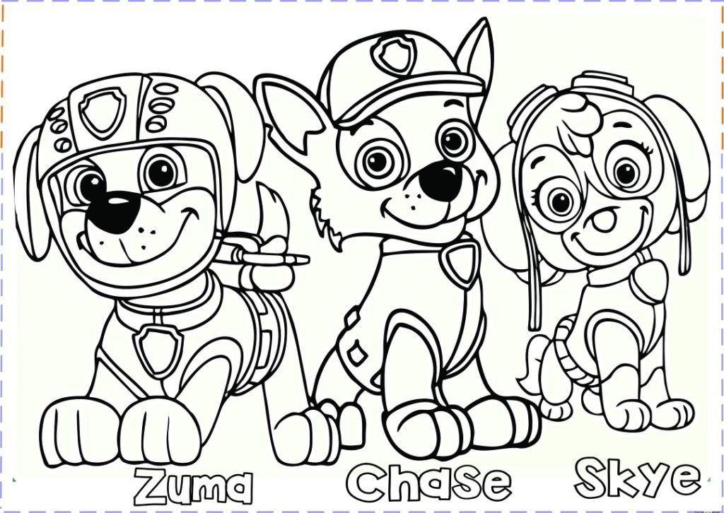 Coloring Rocks Paw Patrol Coloring Cartoon Coloring Pages Birthday Coloring Pages
