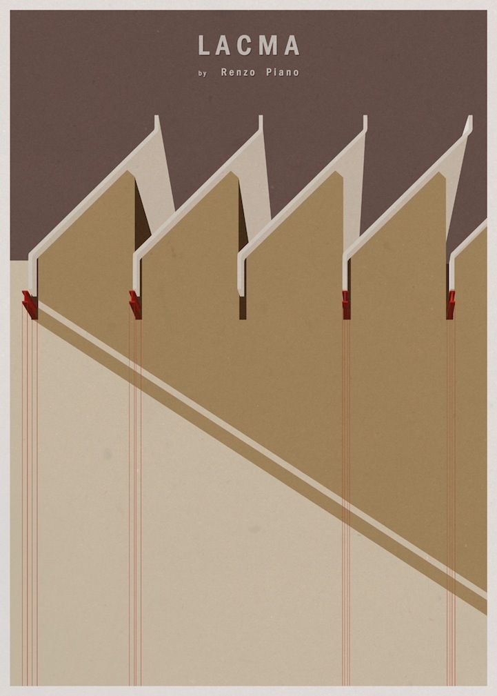 Modern Architecture Posters minimalist architecture postersandre chiote | architecture