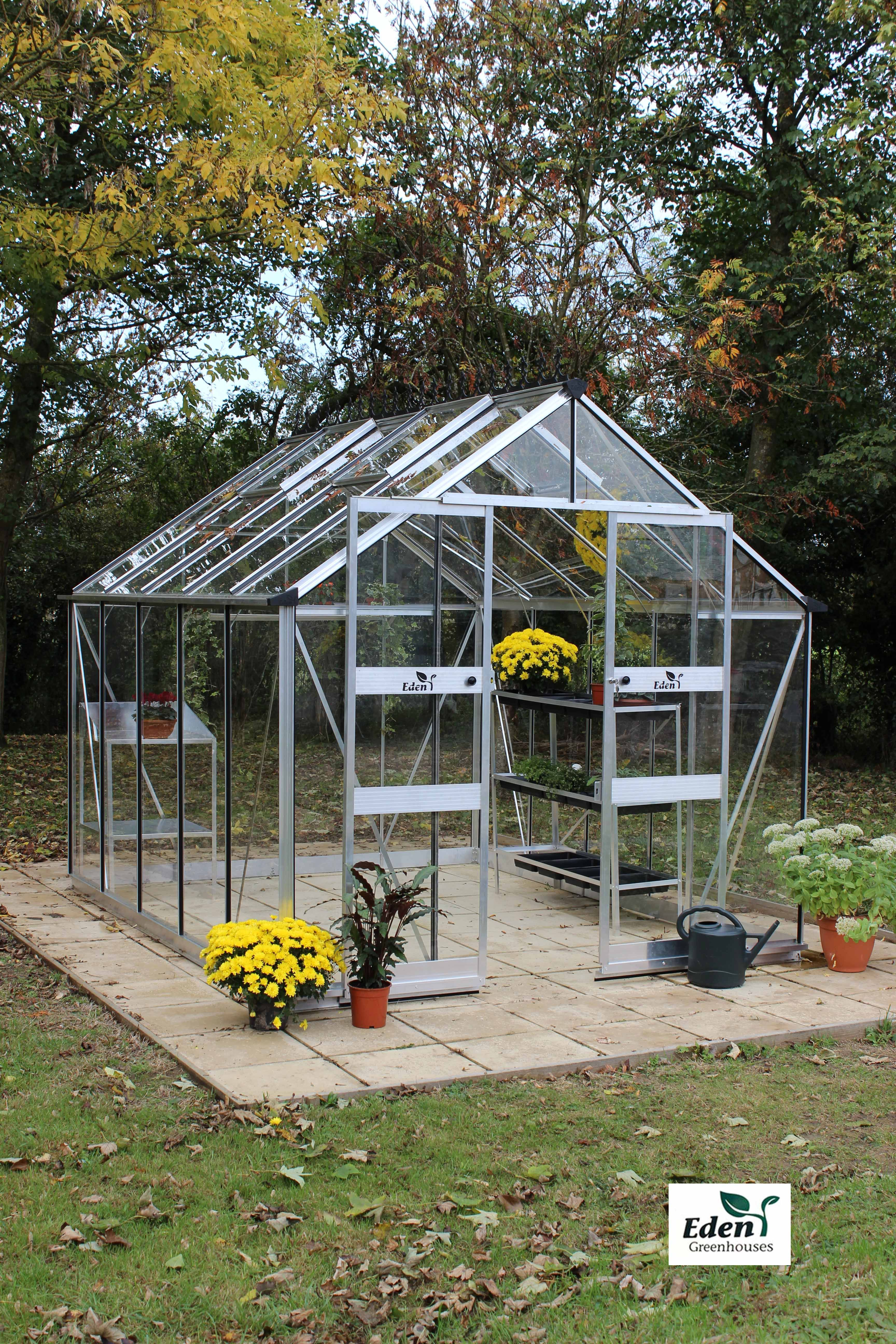 The all new Eden Blockley Greenhouse