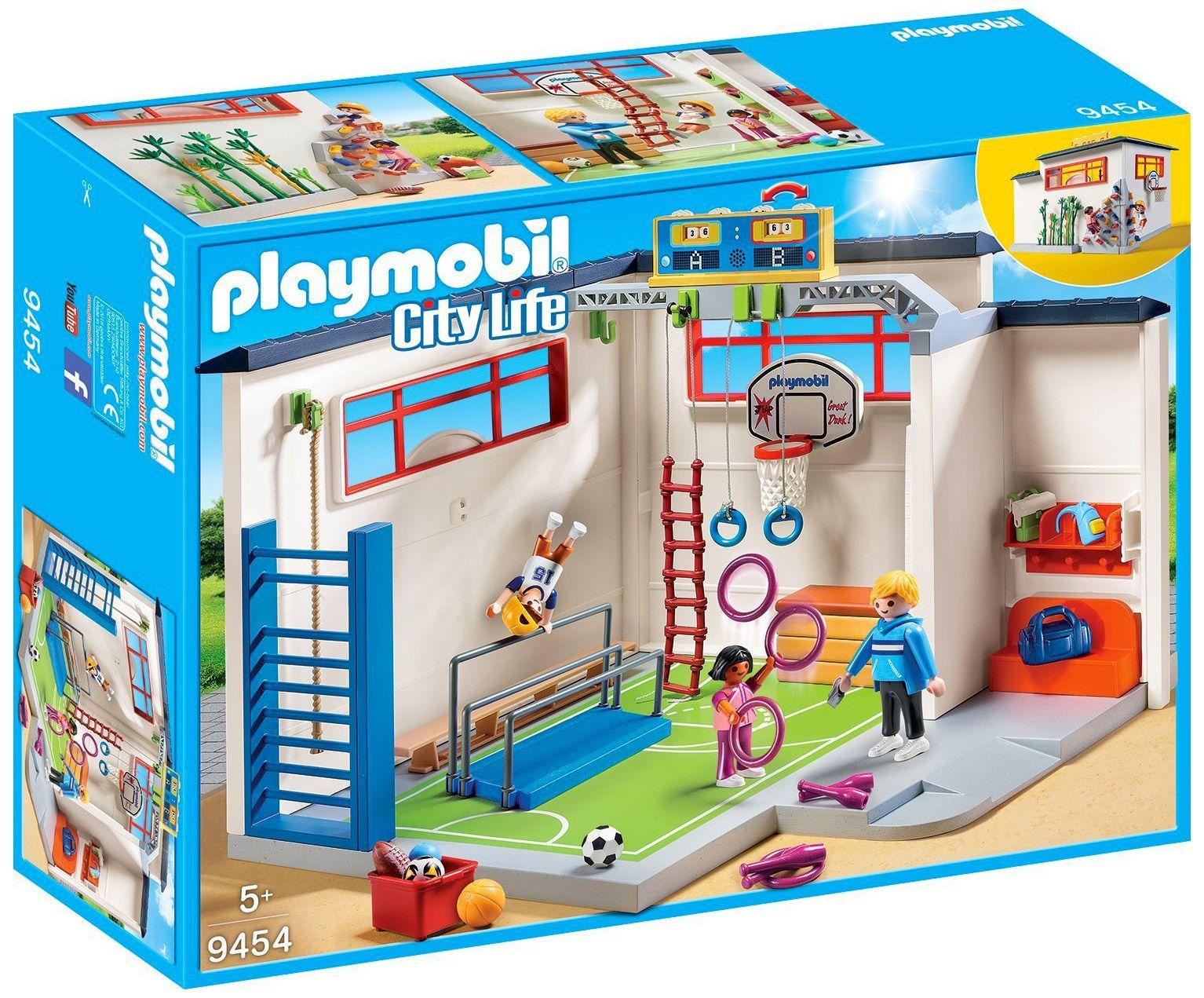 Playmobil City Life 9454 Pas Cher Salle De Sport Playmobil