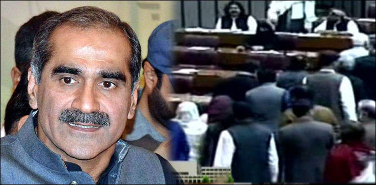 Opposition walks out from NA over nonissuance of Rafique