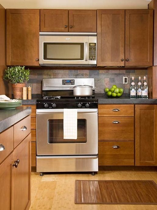 Choosing Kitchen Cabinet Hardware Dark wood cabinets Dark wood