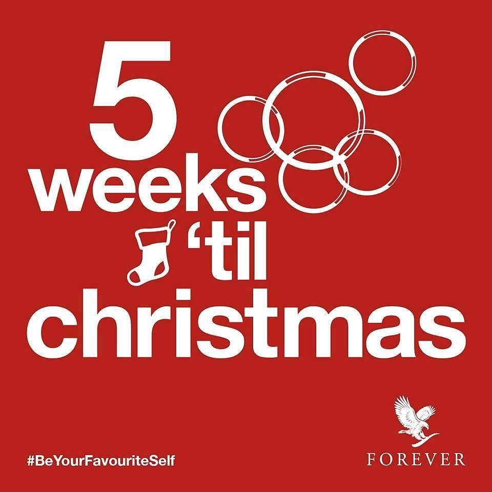 Don T Get Your Tinsel In A Tangle There Are 5 Weeks Until Christmas Forever Has Got Forever Living Products Forever Living Business Forever Living Aloe Vera