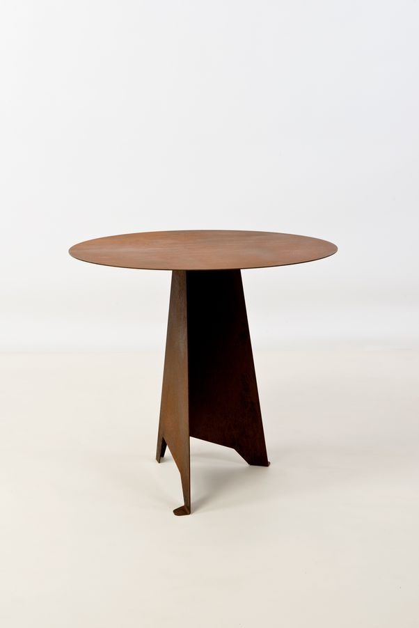TRIPOD WOOD SIDE TABLE By Noon Studio | Wood Side Tables, Tripod And Studio