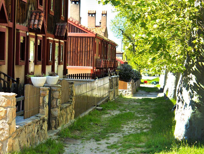 Calle de Navalhorno en Valsaín