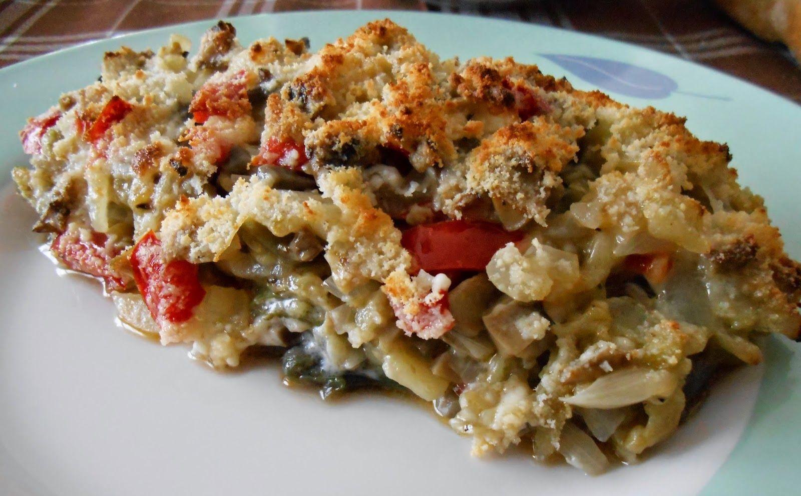 Cocina mami: Berenjenas rellenas de verduras con queso de cabra - eggplants stuffed with vegetables.