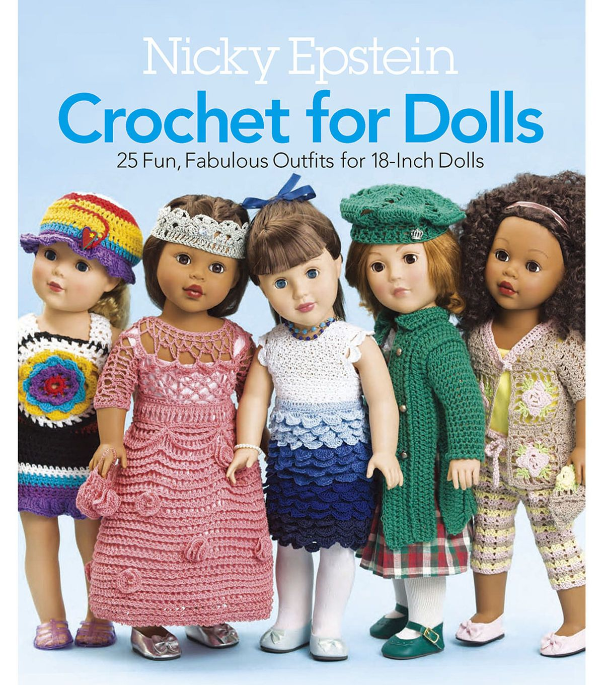 Nicky Epstein Books - Crochet For Dolls
