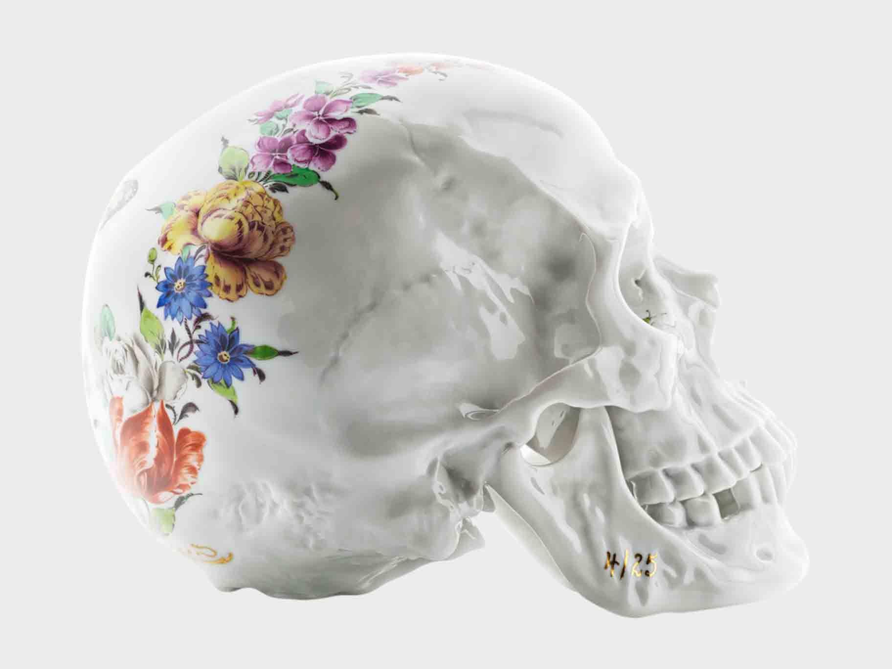 Memento Mori | Porzellan Manufaktur Nymphenburg. Skull Edition with ...