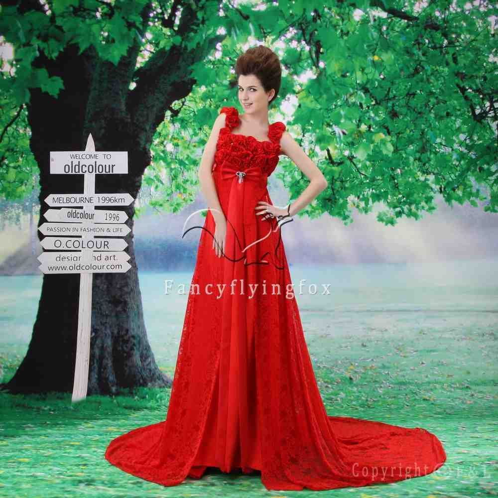 Red Maternity Dresses For Weddings | Maternity Wedding Dress ...