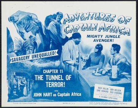 Watch Adventures of Captain Africa, Mighty Jungle Avenger! Full-Movie Streaming