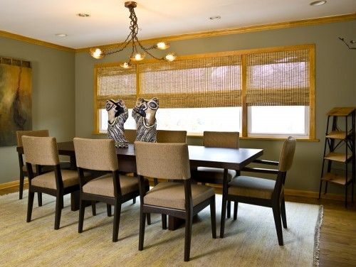 Dining Room Centerpieces To Decorate Your Day Contemporary With Artistic Egypt Statue Style As Also Brown Modern