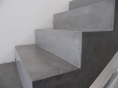 beton unique beton cire beton cire betontreppe nach beschichtung overig pinterest. Black Bedroom Furniture Sets. Home Design Ideas