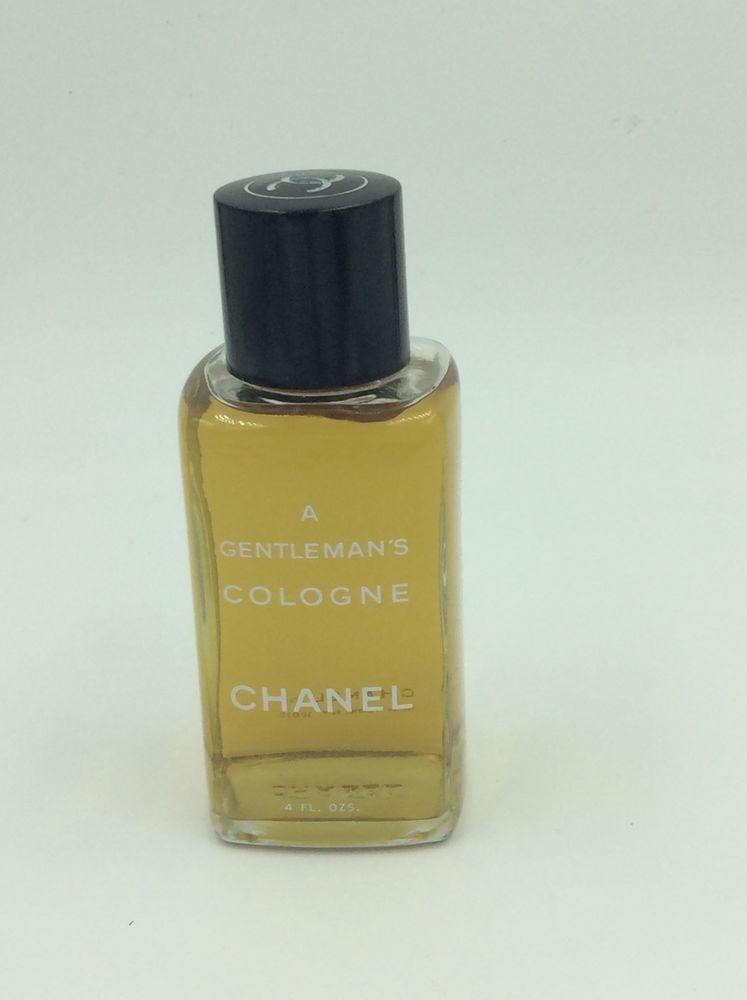 Vintage Chanel A Gentleman s Cologne Men s Cologne Splash 4 oz Bottle   eBay c720ca2924