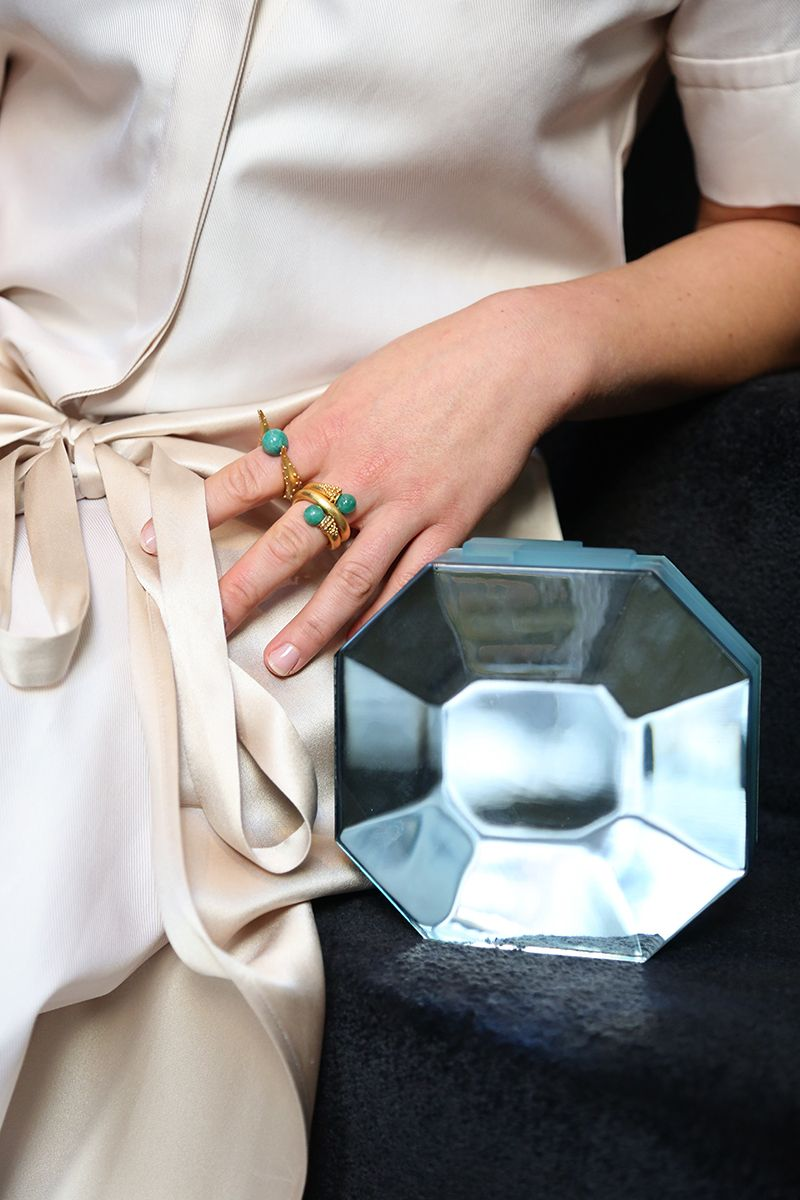 Look 1: Green and Gold Rauwolf's Octagon Gem