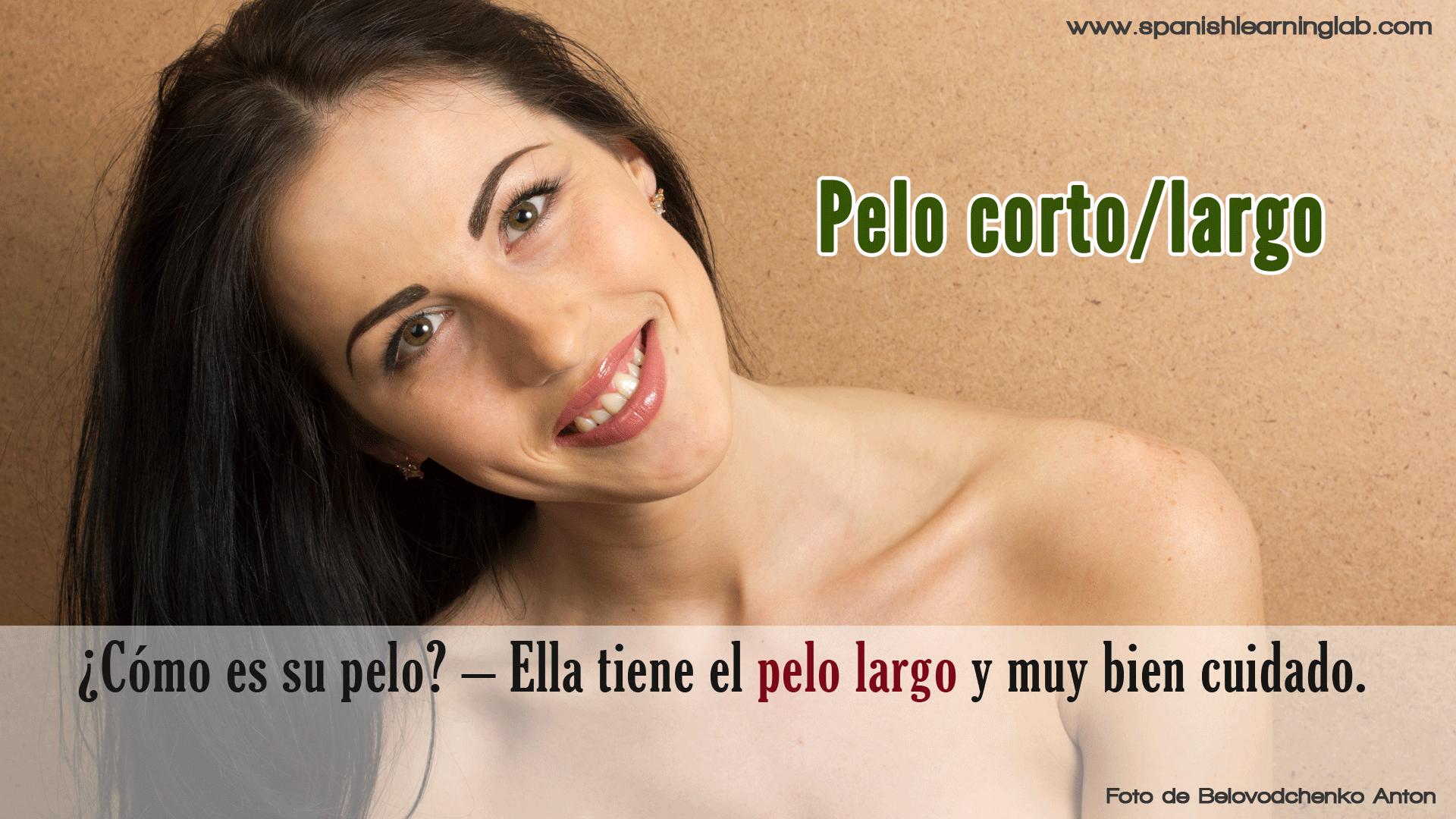 pelo largo Español mamada