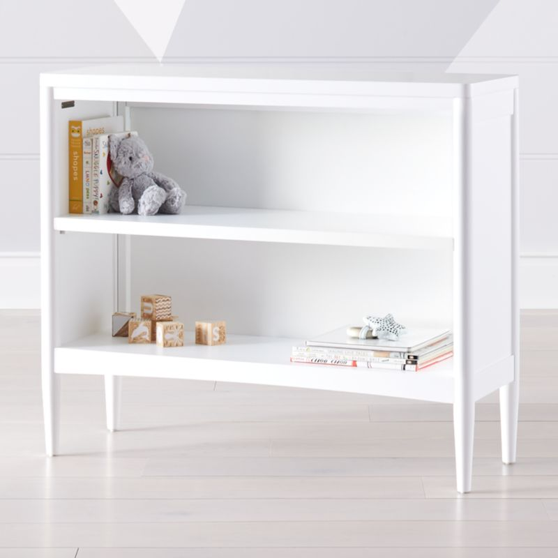 Hampshire Small White Bookcase Reviews Crate And Barrel