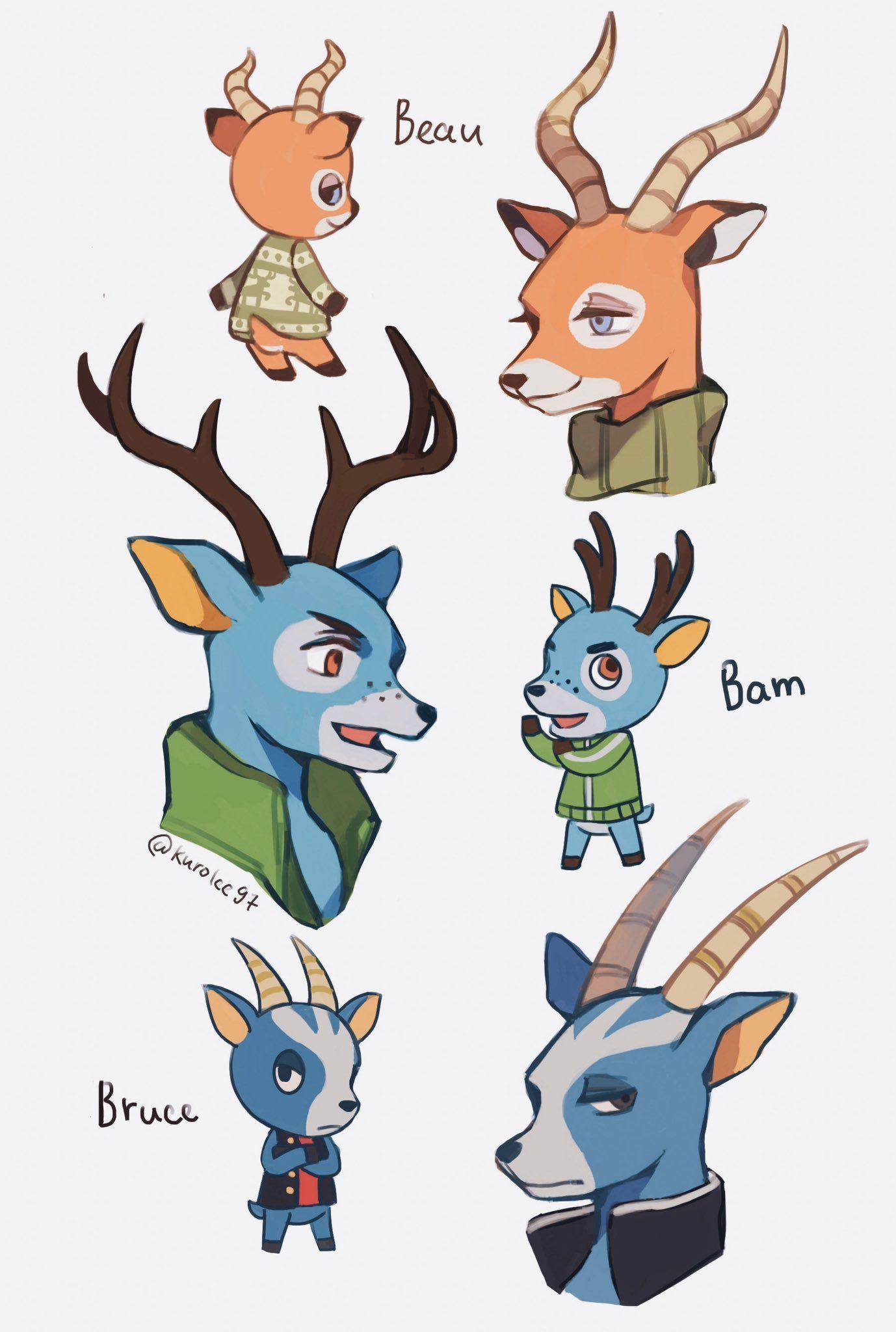 16+ Animal crossing deer villagers ideas
