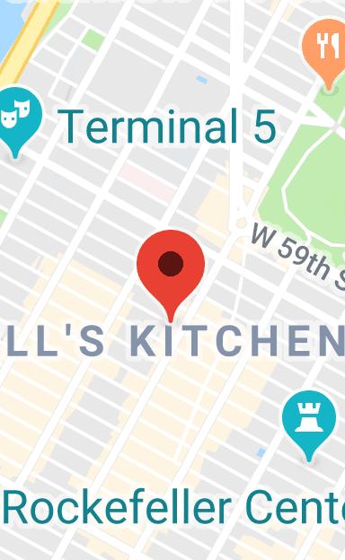 Hells Kitchen New York Map.Map Of Melt Shop Hell S Kitchen New York In 2019 Hells Kitchen