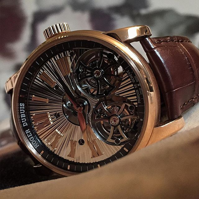 Roger Dubuis Hommage Tourbillon by raff_house