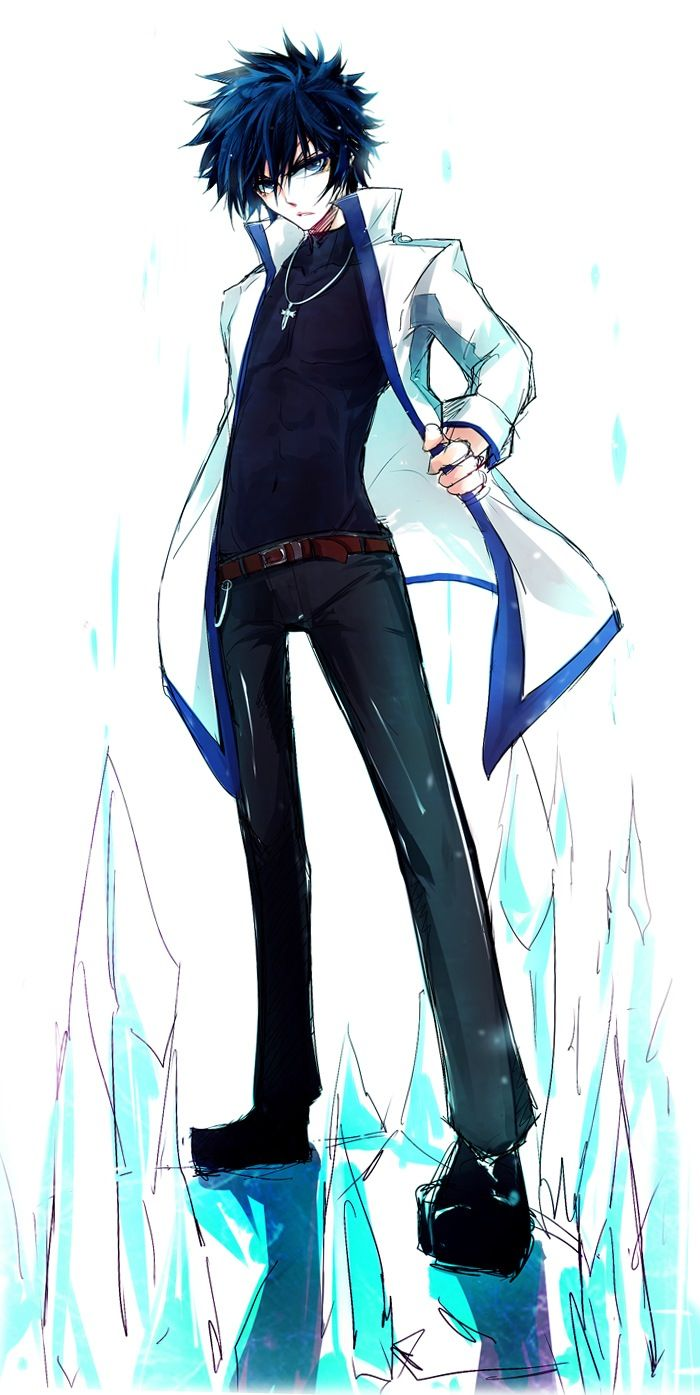 Ideal Gray Fullbuster - Fairy Tail I just love this coat. I want one  FO68