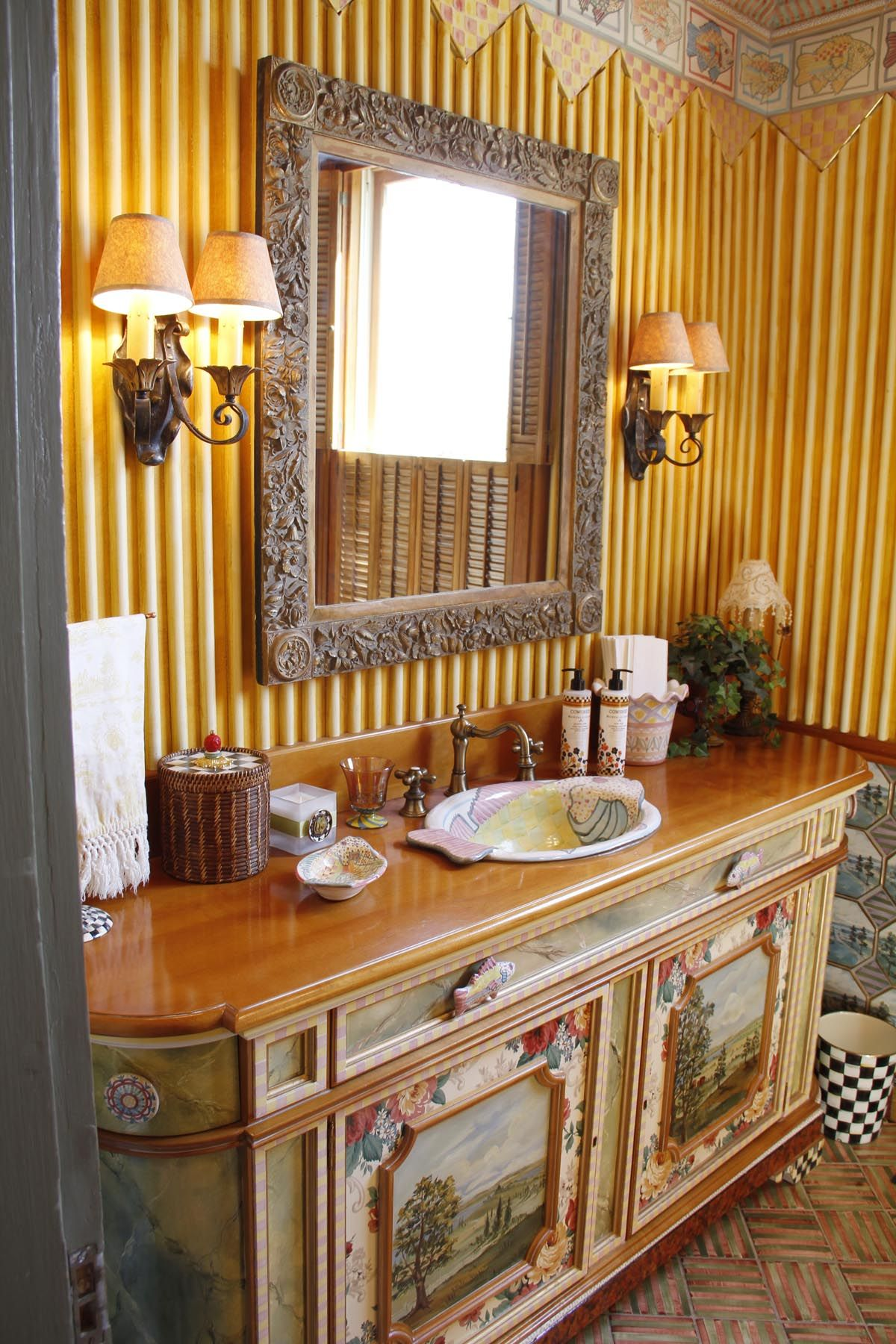 Beautiful Bathroom Chair Rail Specifics Please: First-floor Powder Room.