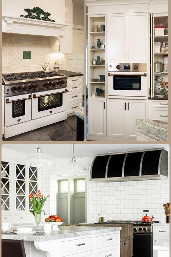 White Kitchen Design Ideas Blue Star Ranges #dreamkitchen