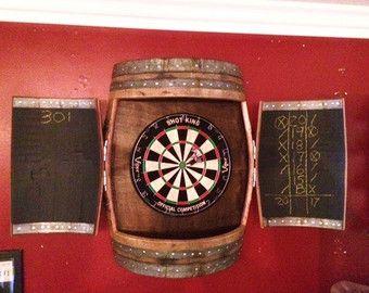 Wine Cork Dartboard Backer Game Room Décor von OldDogOriginals ...