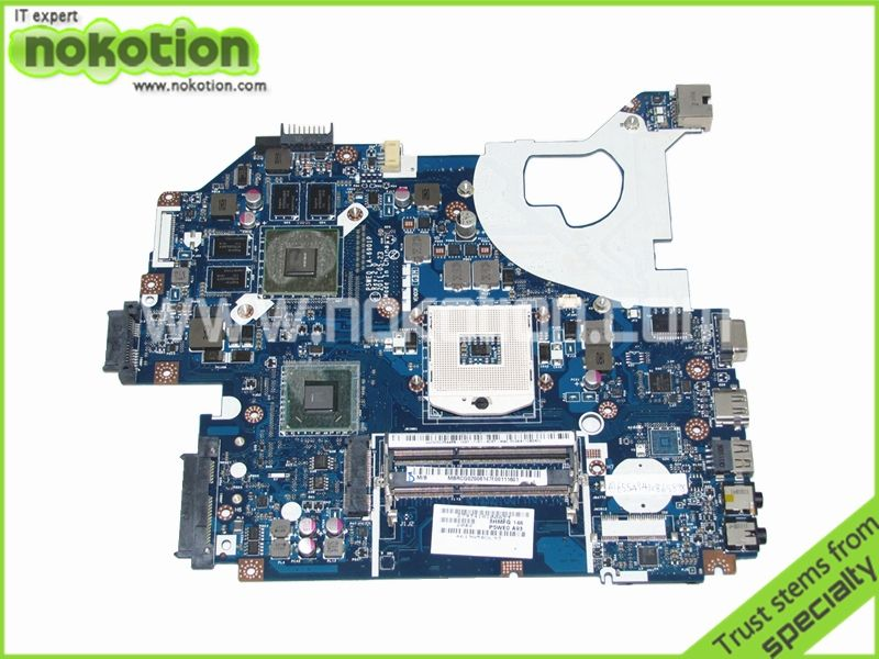 MBRCG02006 P5WE0 LA-6901P Laptop Motherboard For Acer Aspire