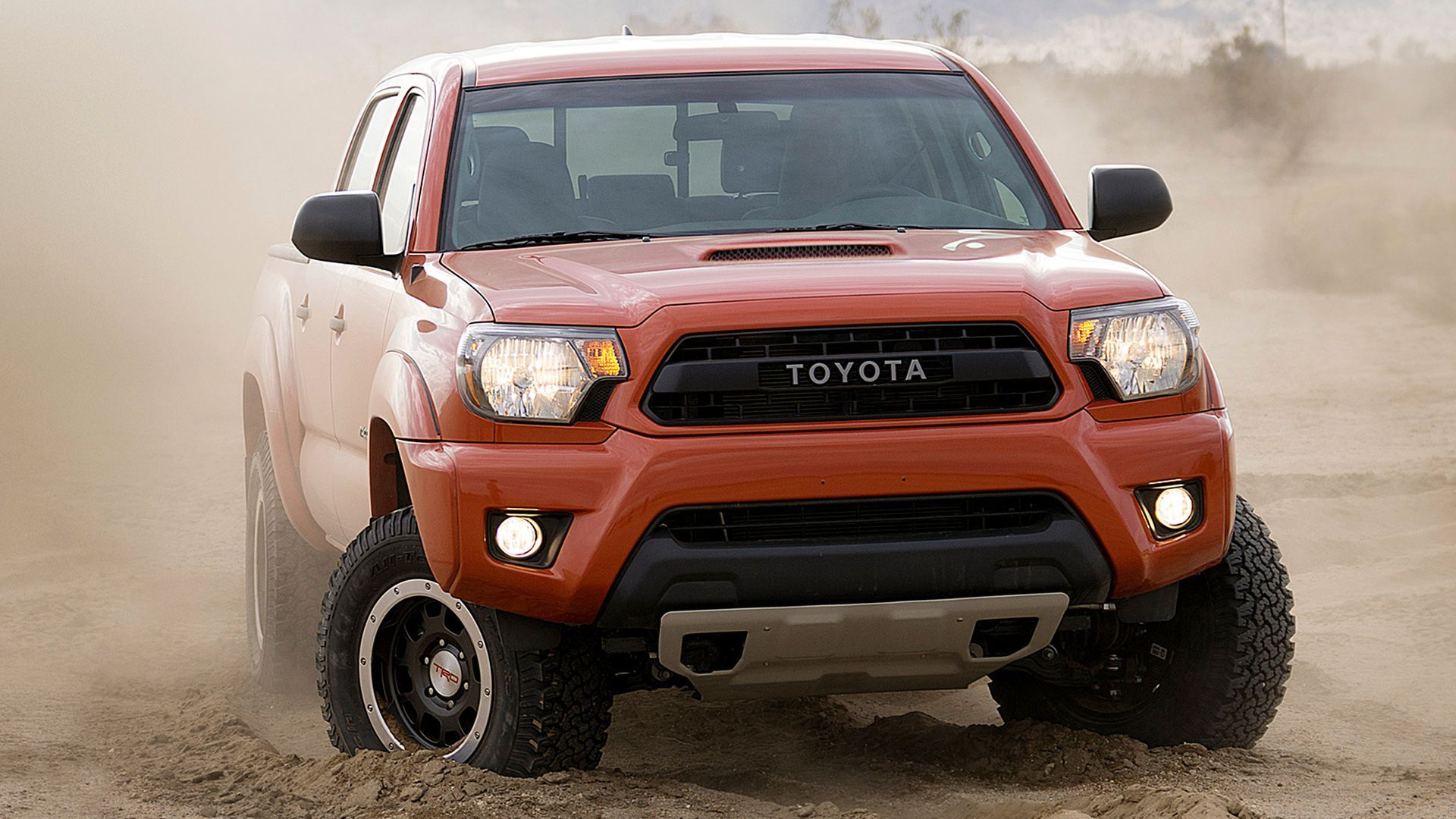 Toyota tacoma trd pro double cab 2015 wallpapers and hd images