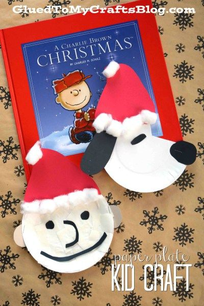 Christmas Charlie Brown & Snoopy - Kid Craft | Snoopy y Navidad