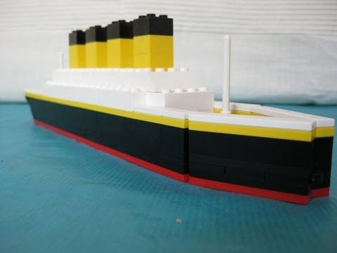 Lego Titanic Building Instructions Lego Parts Needed Packaged