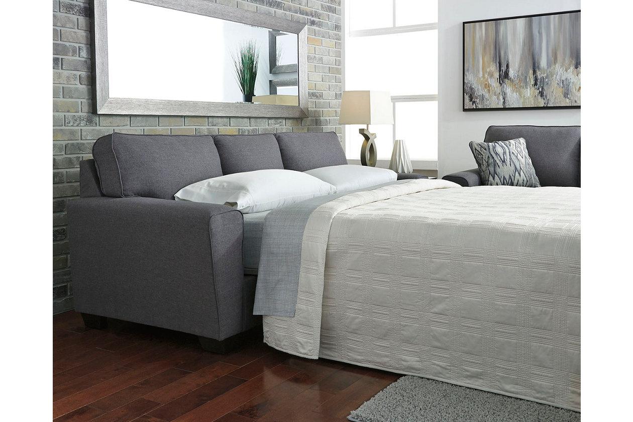 Best Calion Queen Sofa Sleeper Ashley Furniture Homestore 640 x 480
