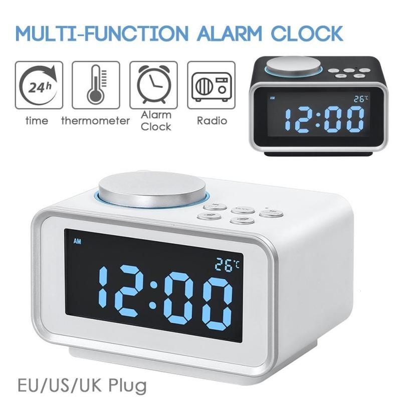 Universe Of Goods Buy Lcd Alarm Clock Multifunction Radio