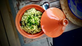 Tastes and Tales from an NYC Underground Restaurant Chef: Pesto & California Black Olive Orzo Pasta Salad